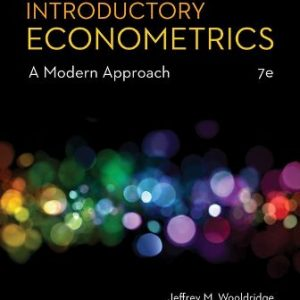 Solution Manual for Introductory Econometrics: A Modern Approach