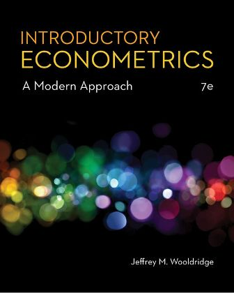 Test Bank for Introductory Econometrics: A Modern Approach