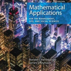 Solution Manual for Mathematical Applications for the Management