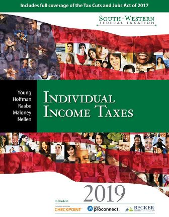 Test Bank for South-Western Federal Taxation 2019: Individual Income Taxes