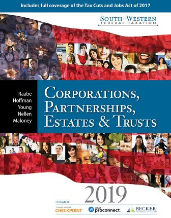 Test Bank for South-Western Federal Taxation 2019: Corporations