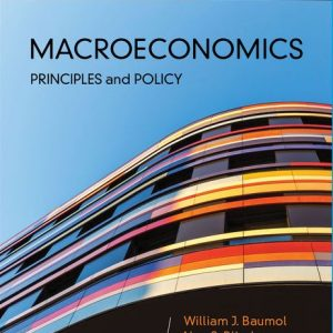 Solution Manual for Macroeconomics: Principles and Policy