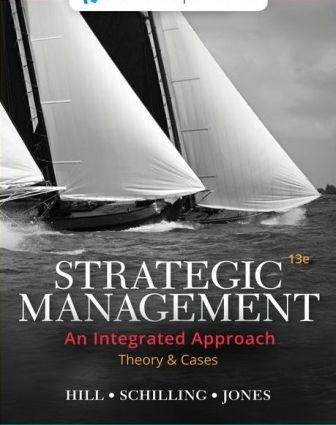 Test Bank for Strategic Management: Theory and Cases: An Integrated Approach