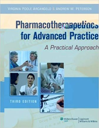 Test Bank for Pharmacotherapeutics for Advanced Practice