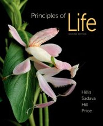 Test Bank for Principles of Life 2nd Edition Hillis ISBN-10: 1464109478