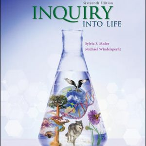 Solution Manual for Inquiry into Life 16th Edition Mader
