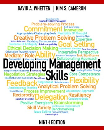 Test Bank for Developing Management Skills 9th Edition Whetten