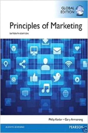 Test Bank for Principles of Marketing 16th Edition Kotler ISBN-10: 0133795020