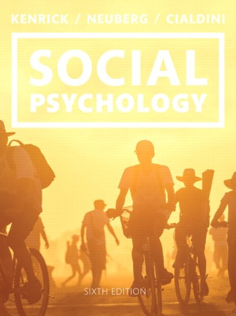Test Bank for Social Psychology: Goals in Interaction