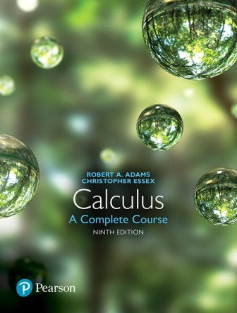 Solution Manual for Calculus: A Complete Course 9th Edition Adams
