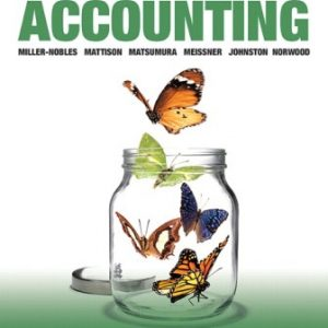 Solution Manual for Horngren's Accounting, Volume 2 10th Canadian Edition Miller-Nobles
