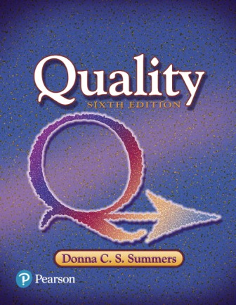 Test Bank for Quality 6th Edition Summers ISBN-10: 013441327X