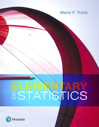 Solution Manual for Elementary Statistics 13th Edition Triola