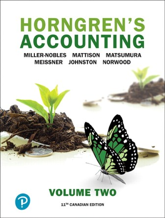 Solution Manual for Horngren's Accounting