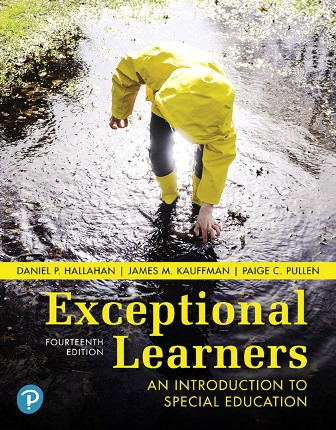 Test Bank for Exceptional Learners: An Introduction to Special Education 14th Edition Hallahan ISBN-10: 0134806379