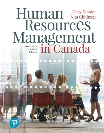 Solution Manual for Human Resources Management in Canada 14th Canadian Edition Dessler