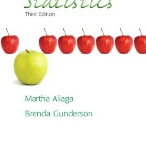 Solution Manual for Interactive Statistics (Classic Version)