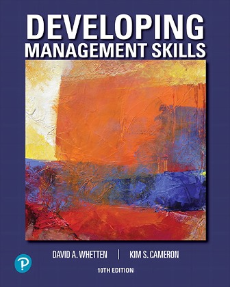 Solution Manual for Developing Management Skills 10th Edition Whetten