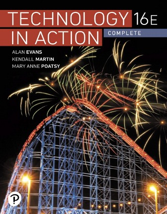 Test Bank for Technology In Action Complete 16th Edition Evans ISBN-10: 0135435196