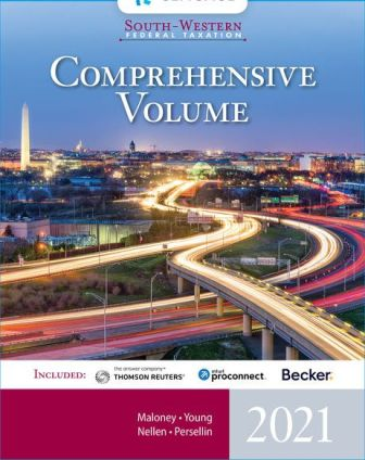 Test Bank for South-Western Federal Taxation 2021: Comprehensive 44th Edition Maloney