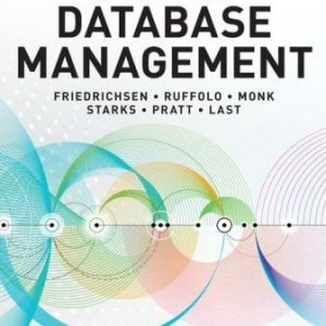 Solution Manual for Concepts of Database Management 10th Edition Friedrichsen