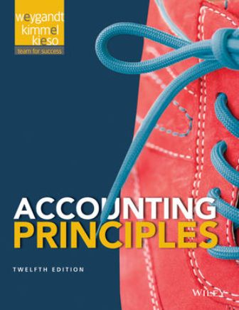 Solution Manual for Accounting Principles 12th Edition Weygandt ISBN : 1118875052