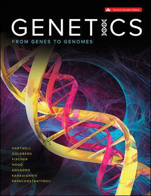 Test Bank for Genetics 2nd Canadian Edition Hartwell