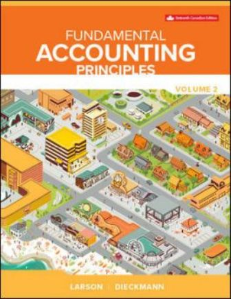 Solution Manual for Fundamental Accounting Principles Vol 2 16th Edition Larson
