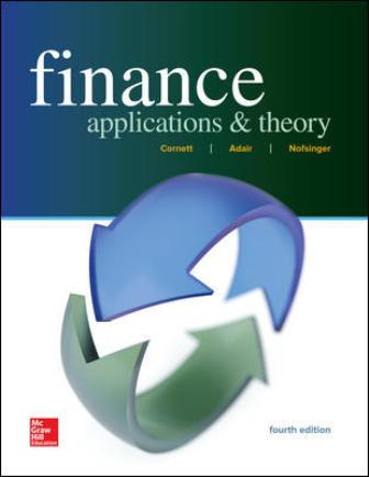Test Bank for Finance: Applications and Theory