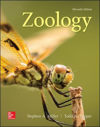 Test Bank for Zoology 11th Edition Miller
