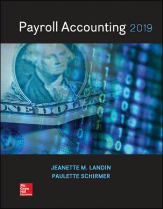 Solution Manual for Payroll Accounting 2019 5th Edition Landin