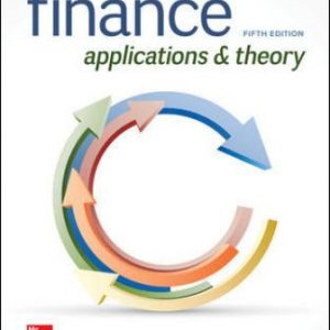Solution Manual for Finance: Applications and Theory