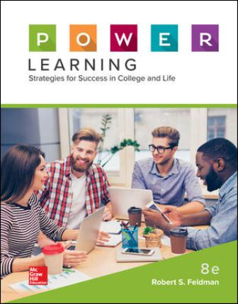Test Bank for P.O.W.E.R. Learning: Strategies for Success in College and Life