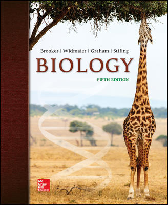 Test Bank for Biology 5th Edition Brooker ISBN10: 1260169626