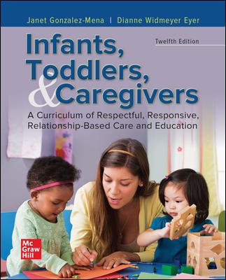 Test Bank for Infants, Toddlers, and Caregivers: A Curriculum of Respectful, Responsive, Relationship-Based Care and Education 12th Edition Gonzalez-Mena