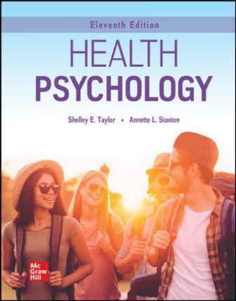 Test Bank for Health Psychology 11th Edition Taylor