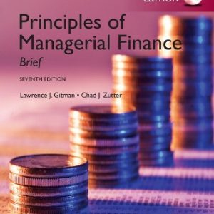 Solution Manual for Principles of Managerial Finance: Brief