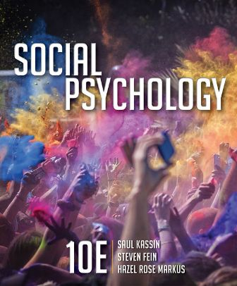 Test Bank for Social Psychology
