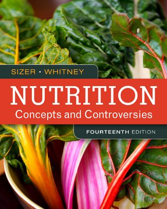 Test Bank for Nutrition: Concepts and Controversies 14th Edition Sizer ISBN-10: 1305627997