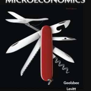 Test Bank for Microeconomics 3rd Edition Goolsbee