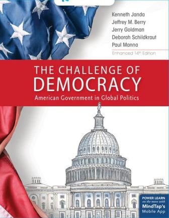 Test Bank for The Challenge of Democracy