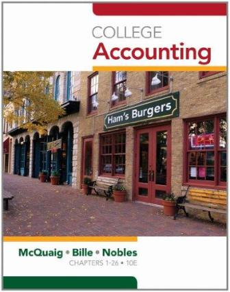 Test Bank for College Accounting