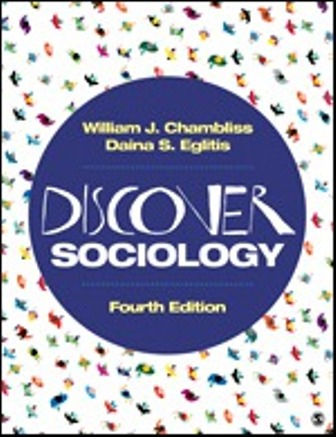 Test Bank for Discover Sociology 4th Edition Chambliss ISBN: 9781544333434  ISBN: 9781544365640