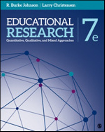 Test Bank for Educational Research Quantitative, Qualitative, and Mixed Approaches 7th Edition Johnson