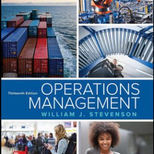 Solution Manual for Operations Management 13th Edition Stevenson