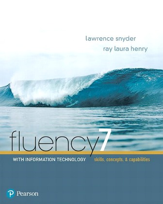 Test Bank for Fluency With Information Technology 7th Edition Snyder