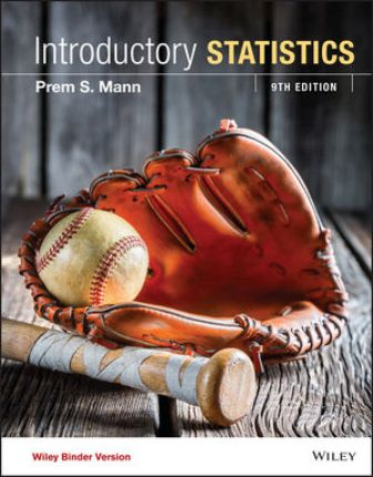 Test Bank for Introductory Statistics 9th Edition Mann