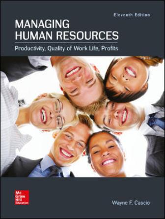 Test Bank for Managing Human Resources 11th Edition Cascio