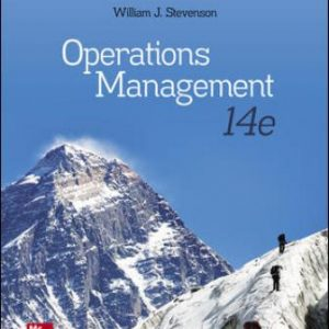 Solution Manual for Operations Management 14th Edition Stevenson