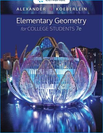 Solution Manual for Elementary Geometry for College Students 7th Edition Alexander